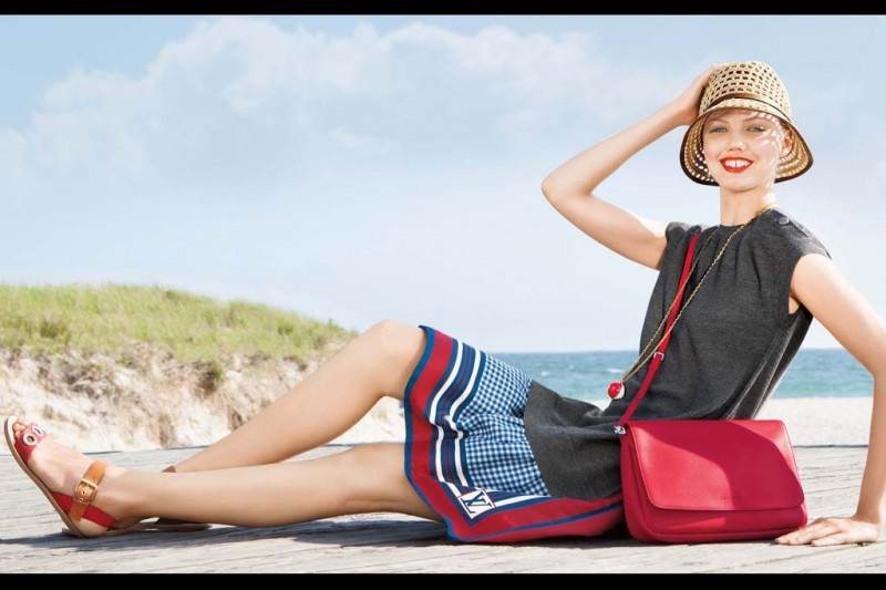 americana manhasset resort7 800x533 Lindsey Wixson Fronts Americana Manhasset Resort 2014 Ads