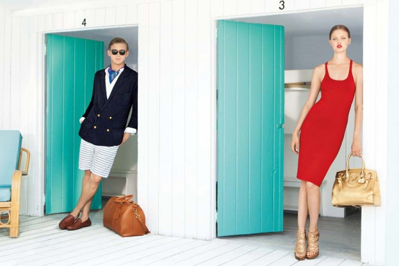 americana manhasset resort8 800x533 Lindsey Wixson Fronts Americana Manhasset Resort 2014 Ads