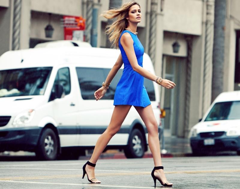 Ana Beatriz Barros Poses For Revolve Clothing S 10 Year