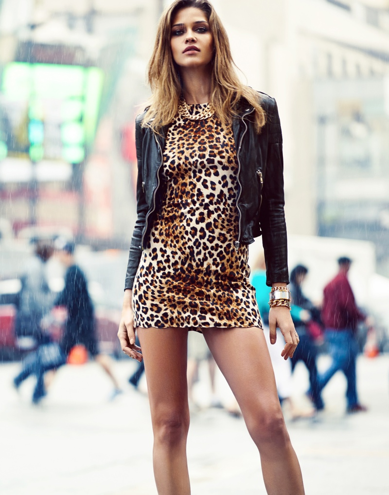 Ana Beatriz Barros Poses For Revolve Clothing S 10 Year