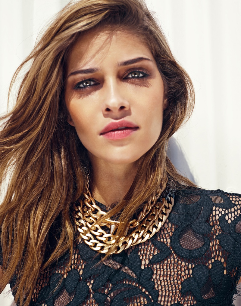 ana beatriz barros pictures6 Ana Beatriz Barros Poses for Revolve Clothings 10 Year Holiday Line