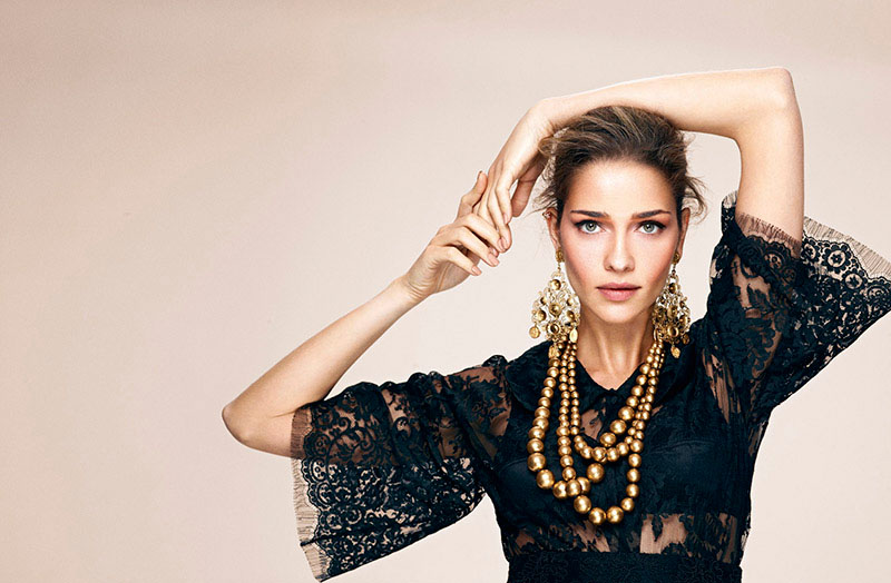 ana beatriz barros shoot2 Ana Beatriz Barros Gets Regal in LOfficiel Turkey Shoot by Emre Dogru