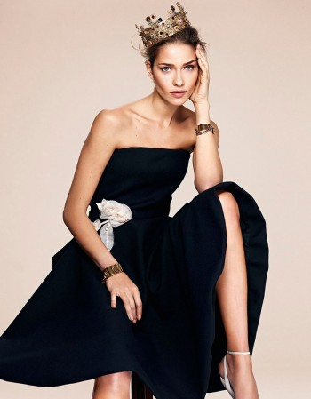 Ana Beatriz Barros Gets Regal in L'Officiel Turkey Shoot by Emre Dogru
