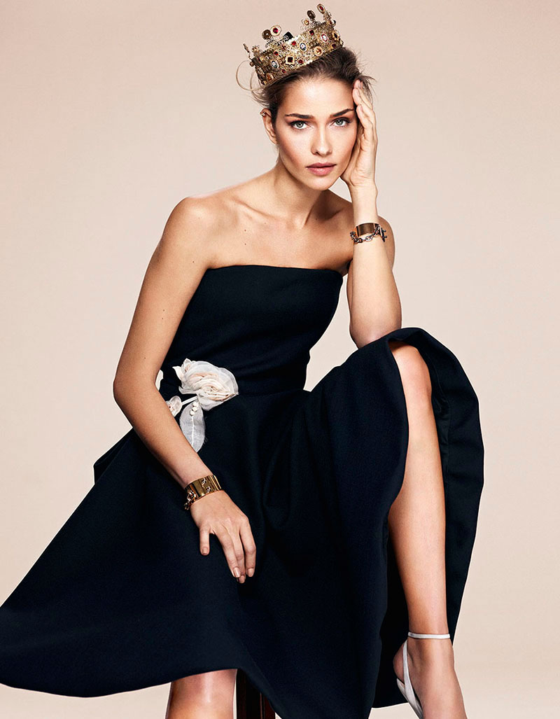 ana beatriz barros shoot3 Ana Beatriz Barros Gets Regal in LOfficiel Turkey Shoot by Emre Dogru