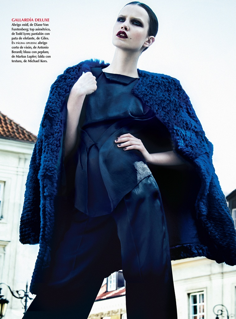azul kevin sinclair3 Julie Borawska Has the Blues for Vogue Mexico Spread by Kevin Sinclair