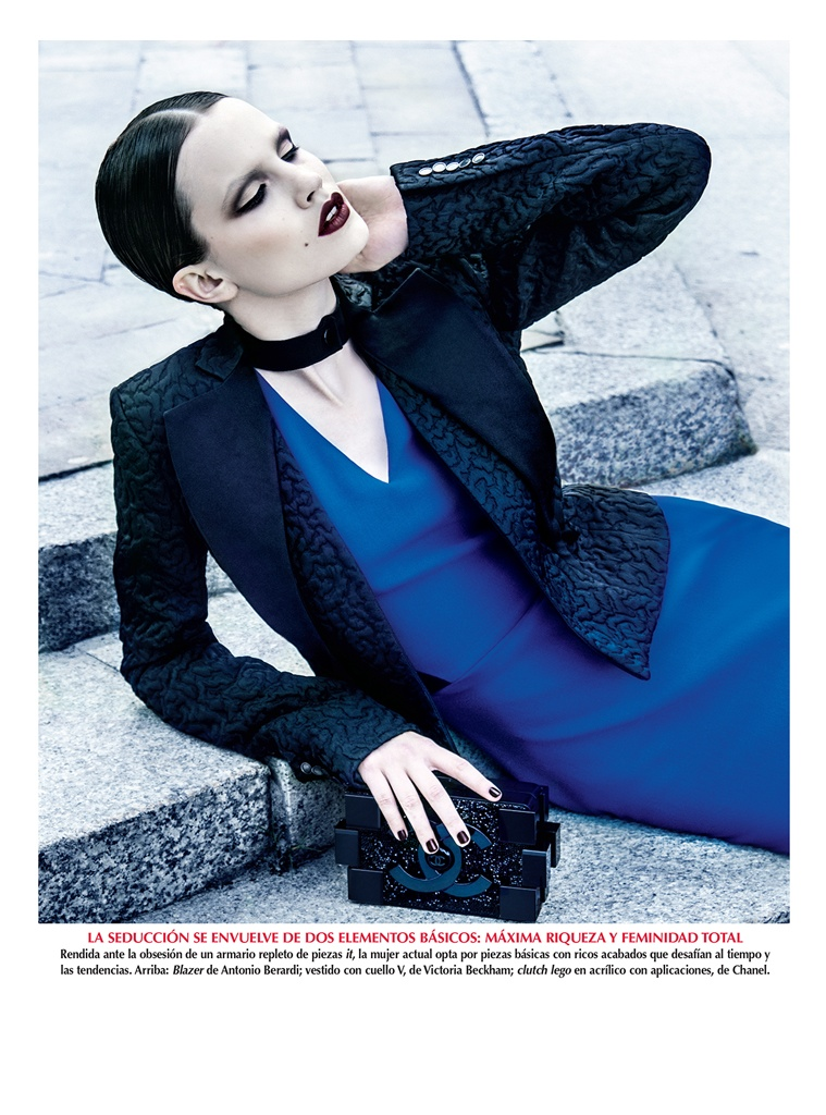 azul kevin sinclair5 Julie Borawska Has the Blues for Vogue Mexico Spread by Kevin Sinclair