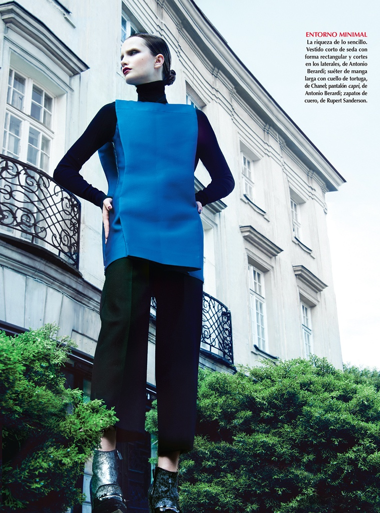 azul kevin sinclair6 Julie Borawska Has the Blues for Vogue Mexico Spread by Kevin Sinclair