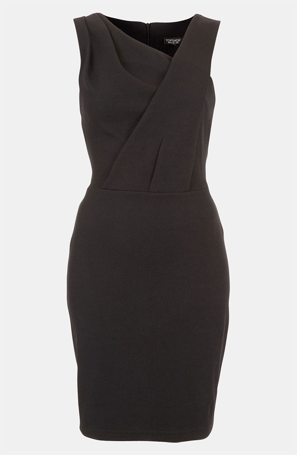black crepe dress The LBD: 7 Little Black Dresses for Every Occasion