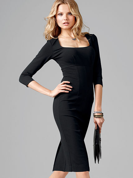 black sheath dress The LBD: 7 Little Black Dresses for Every Occasion