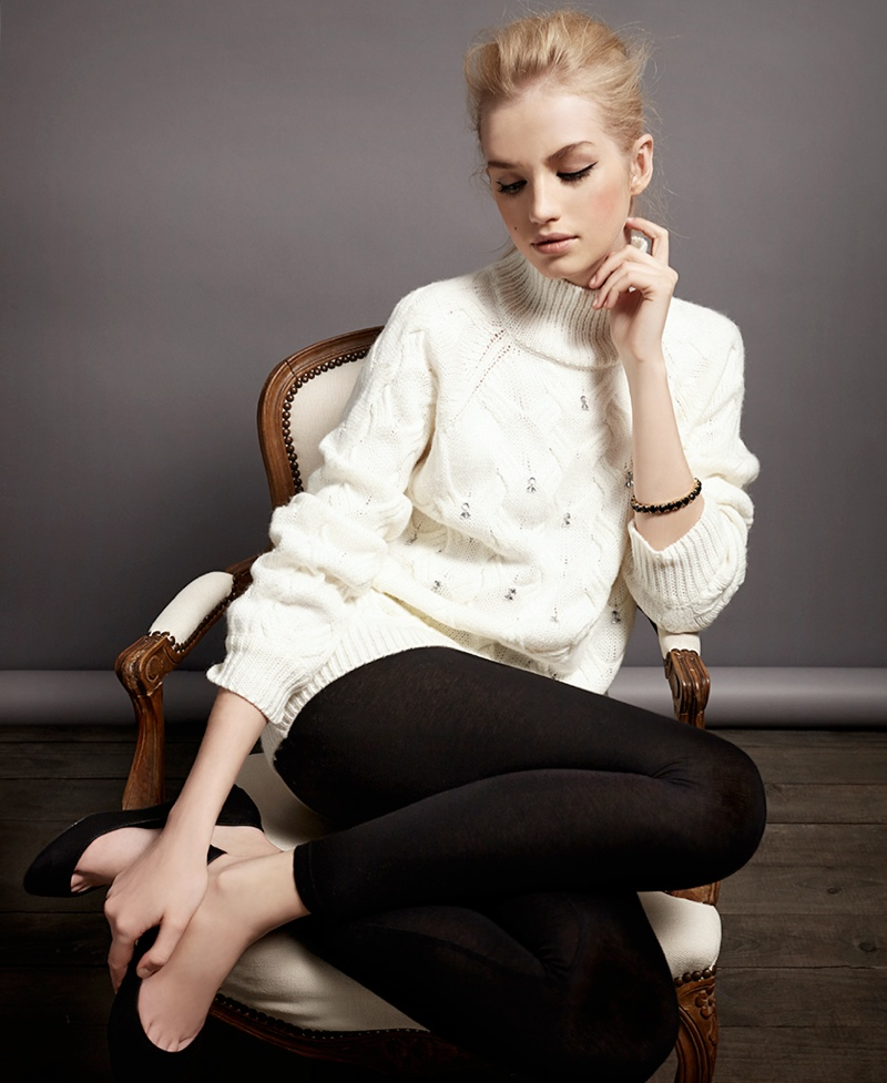 Diana Farkhullina Models SuiteBlanco's Christmas & Gift Collection