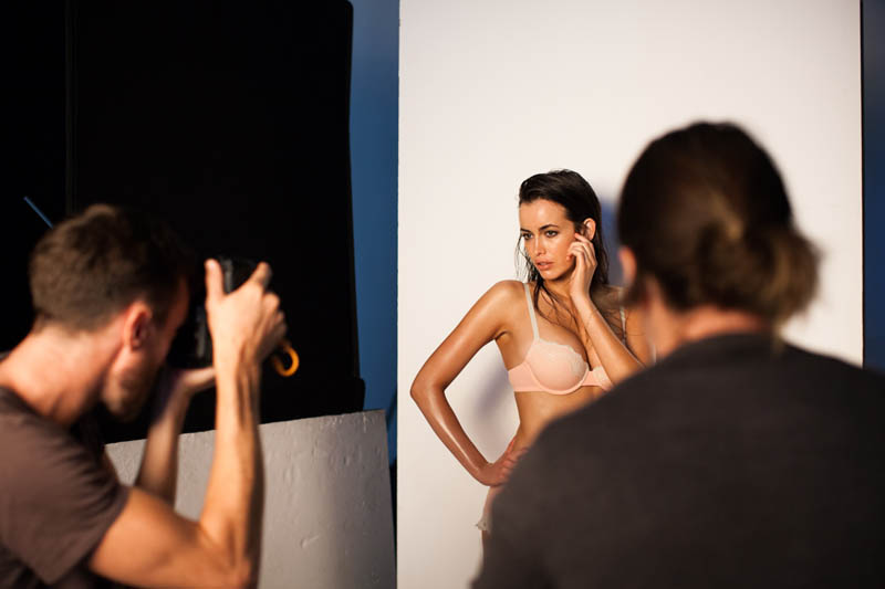 Sarah Stephens Strips Down for Bonds Intimates Campaign