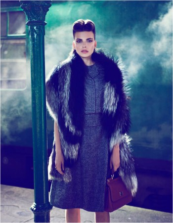 Semka Semenchenko is Retro Chic for Harrods Magazine by Tibi Clenci