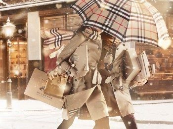 "Burberry Gets Festive for ""Burberry With Love"" Campaign"