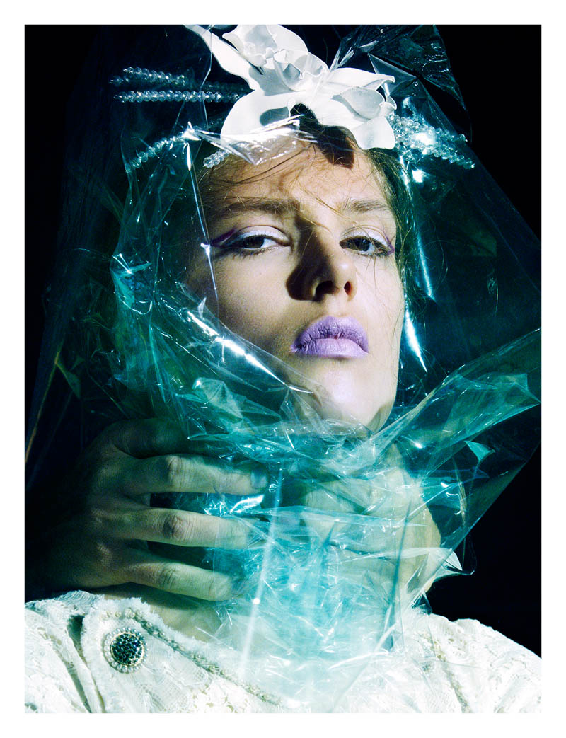 caroline brasch nielsen2 Caroline Brasch Nielsen Makes a Change for Numéro #148 by Greg Kadel