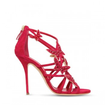 Casadei's Red Hot Christmas Shoe