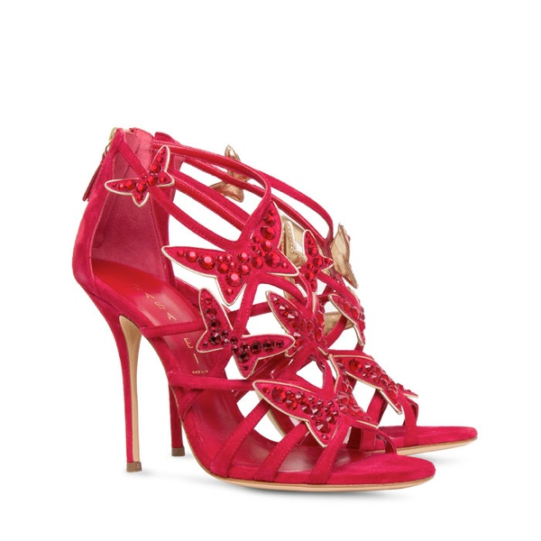 casadei christmas 2013 2 Casadeis Red Hot Christmas Shoe