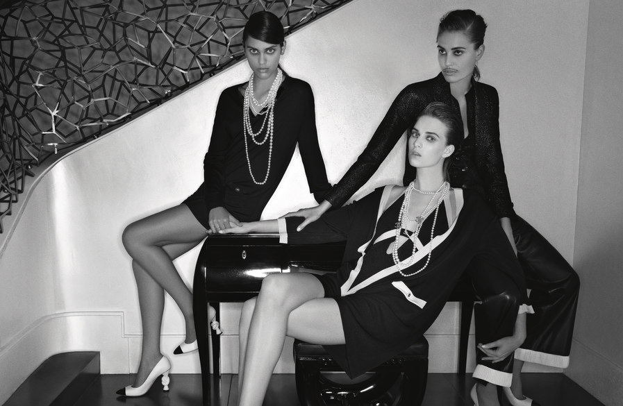Karl Lagerfeld Shoots Chanel's Cruise 2014 Campaign