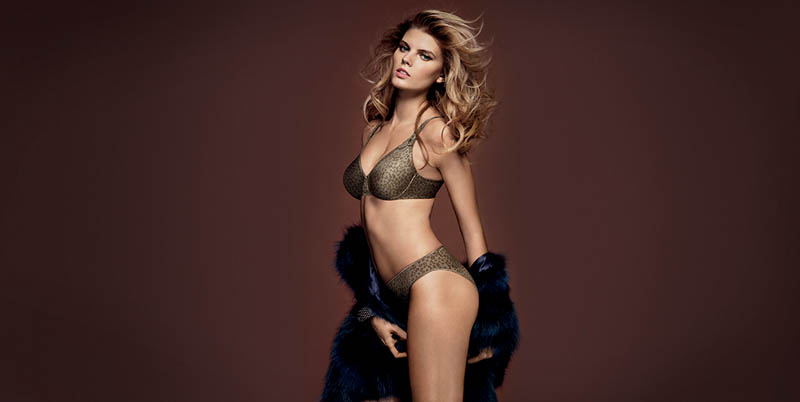 chantelle lingerie fall14 Robyn Lawley + Maryna Linchuk Stun in Chantelle Lingerie F/W 2013 Ads