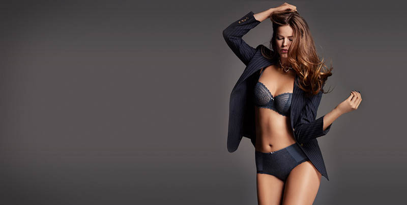 chantelle lingerie fall17 Robyn Lawley + Maryna Linchuk Stun in Chantelle Lingerie F/W 2013 Ads