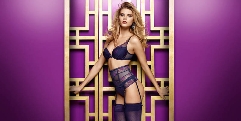chantelle lingerie fall19 Robyn Lawley + Maryna Linchuk Stun in Chantelle Lingerie F/W 2013 Ads