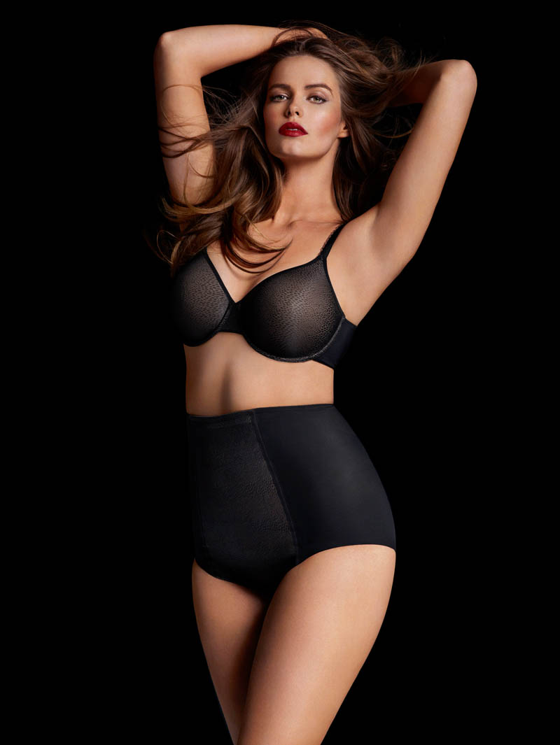 chantelle lingerie fall2 Robyn Lawley + Maryna Linchuk Stun in Chantelle Lingerie F/W 2013 Ads