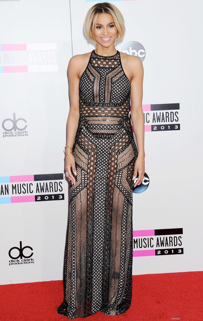 ciara j mendel dress Taylor Swift, Katy Perry, Miley Cyrus + More Star Style at the 2013 AMAs
