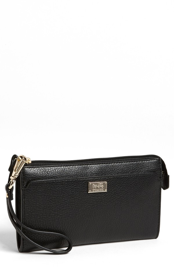 coach leather zippy wallet Holiday Gift Guide 2013 | Bags & Accessories