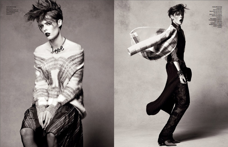 coco rocha lofficiel shoot2 Coco Rocha Rocks the New Style for LOfficiel Netherlands Spread