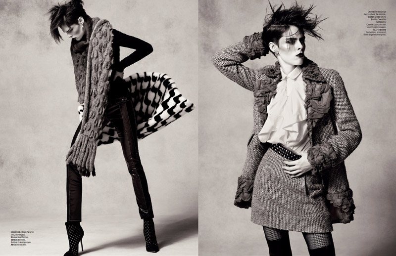 coco rocha lofficiel shoot6 Coco Rocha Rocks the New Style for LOfficiel Netherlands Spread
