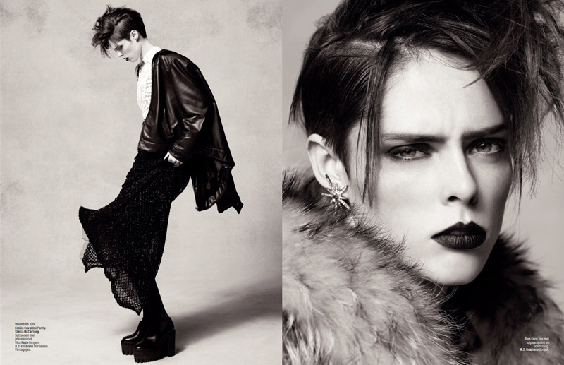 coco rocha lofficiel shoot7 Coco Rocha Rocks the New Style for LOfficiel Netherlands Spread