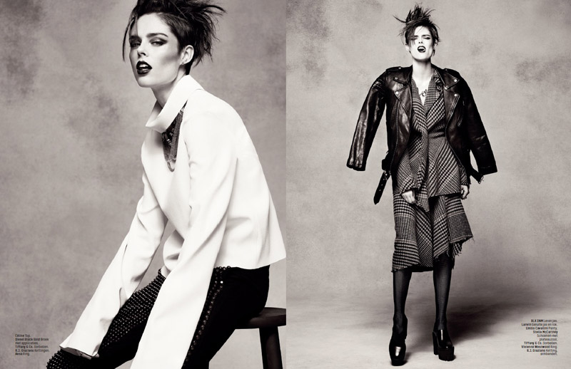 coco rocha lofficiel shoot8 Coco Rocha Rocks the New Style for LOfficiel Netherlands Spread