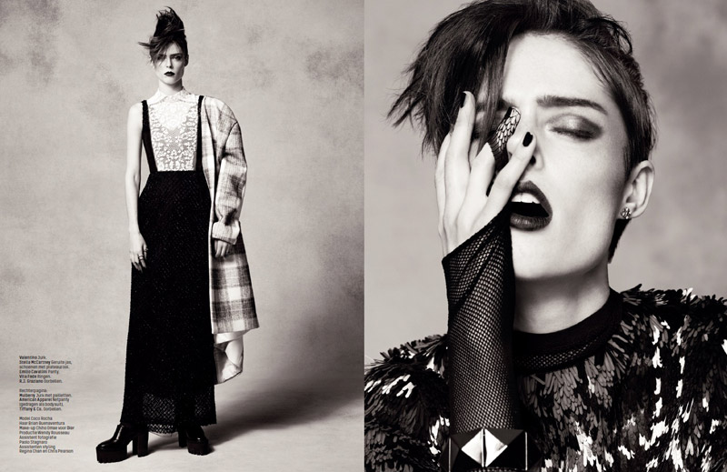coco rocha lofficiel shoot9 Coco Rocha Rocks the New Style for LOfficiel Netherlands Spread