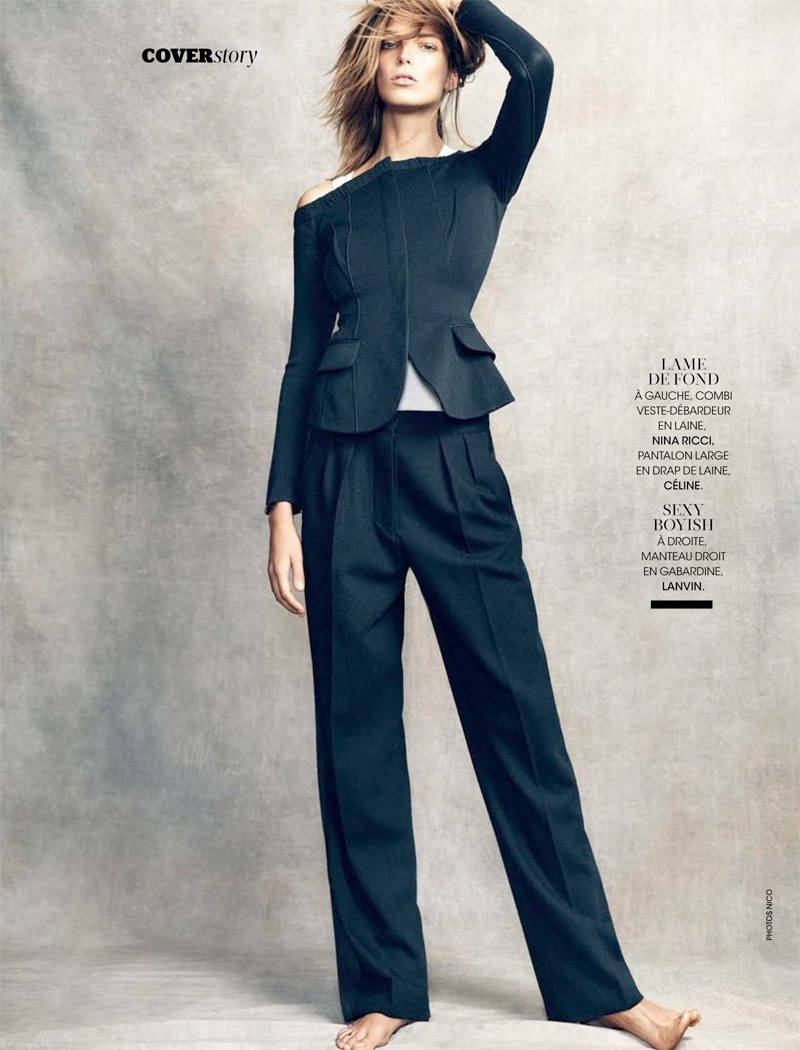 daria werbowy pictures10 Daria Werbowy Poses for the November Issue of Madame Figaro by Nico