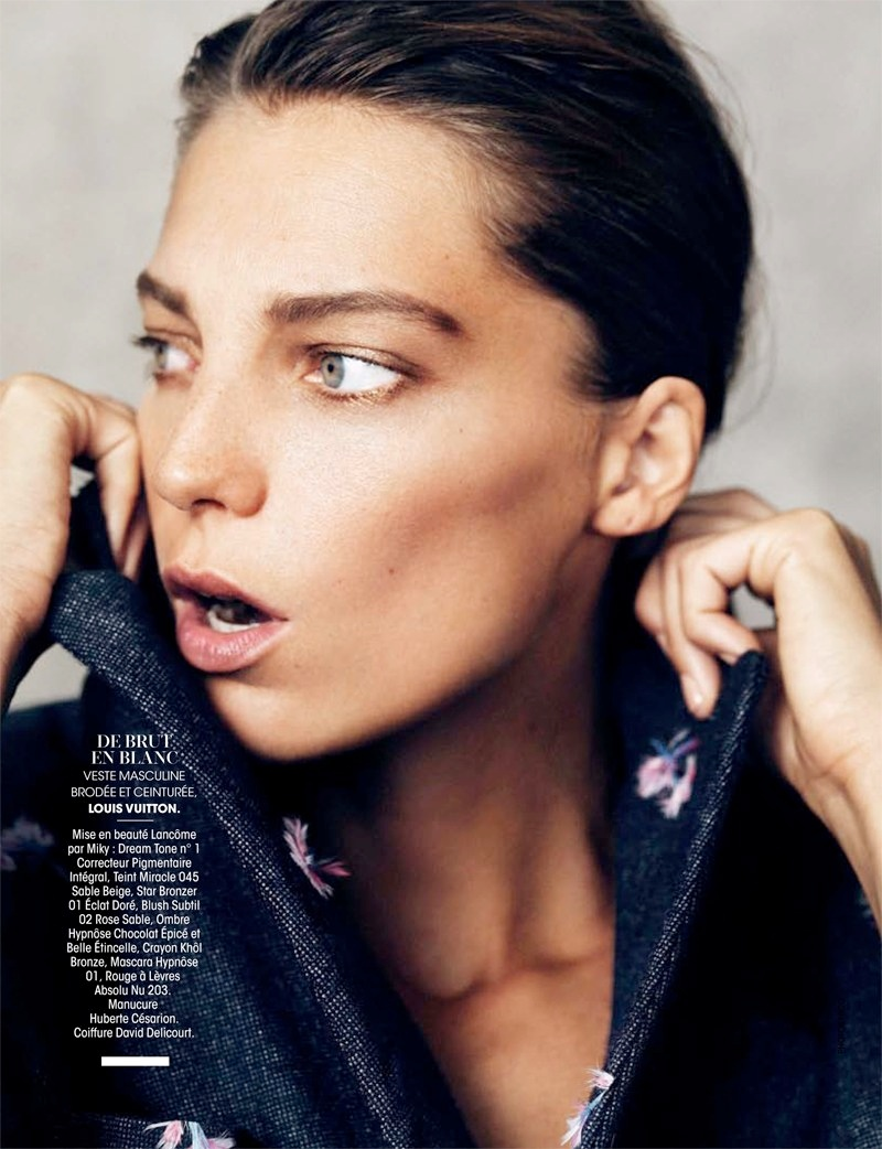 daria werbowy pictures12 Daria Werbowy Poses for the November Issue of Madame Figaro by Nico
