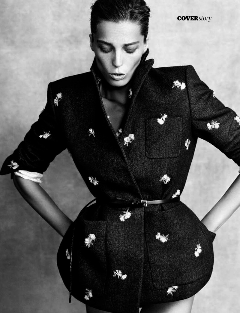 daria werbowy pictures13 Daria Werbowy Poses for the November Issue of Madame Figaro by Nico