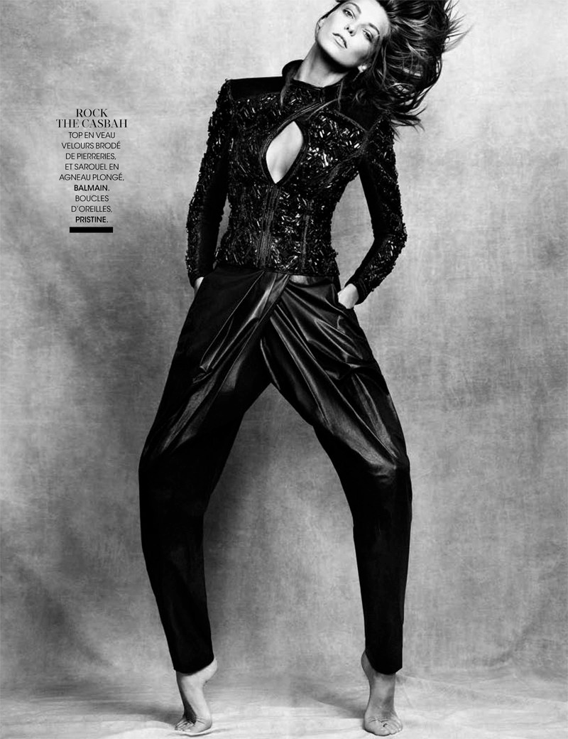 daria werbowy pictures2 Daria Werbowy Poses for the November Issue of Madame Figaro by Nico
