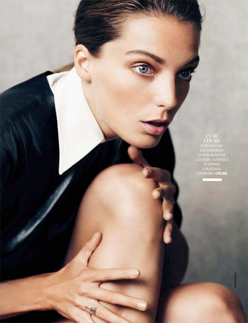 daria werbowy pictures3 Daria Werbowy Poses for the November Issue of Madame Figaro by Nico