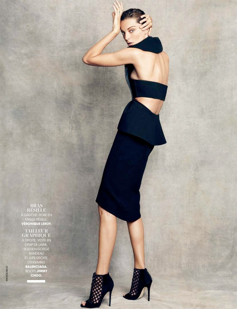 daria werbowy pictures6 Daria Werbowy Poses for the November Issue of Madame Figaro by Nico