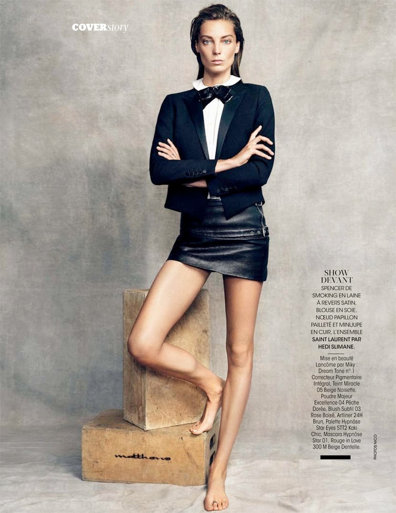 daria werbowy pictures8 Daria Werbowy Poses for the November Issue of Madame Figaro by Nico