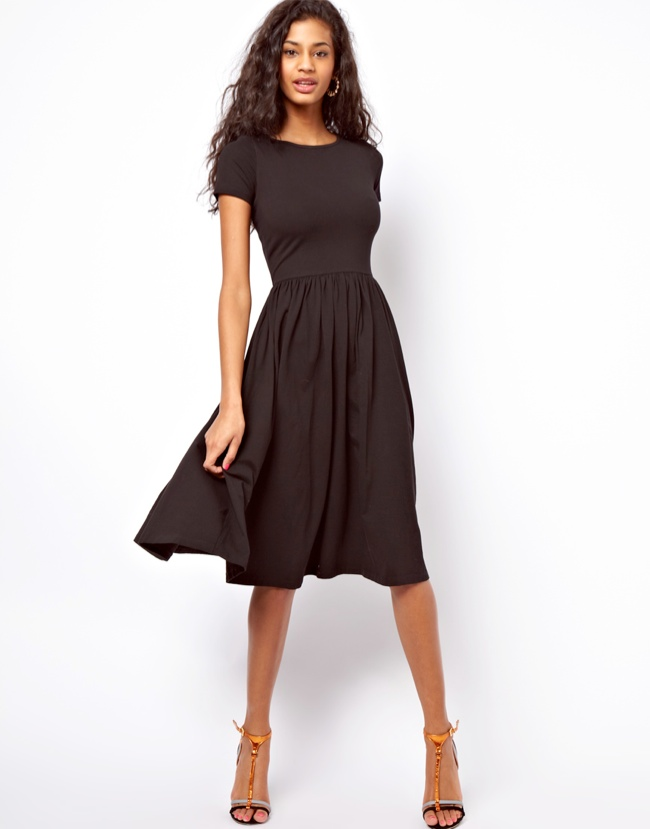 daytime dress The LBD: 7 Little Black Dresses for Every Occasion