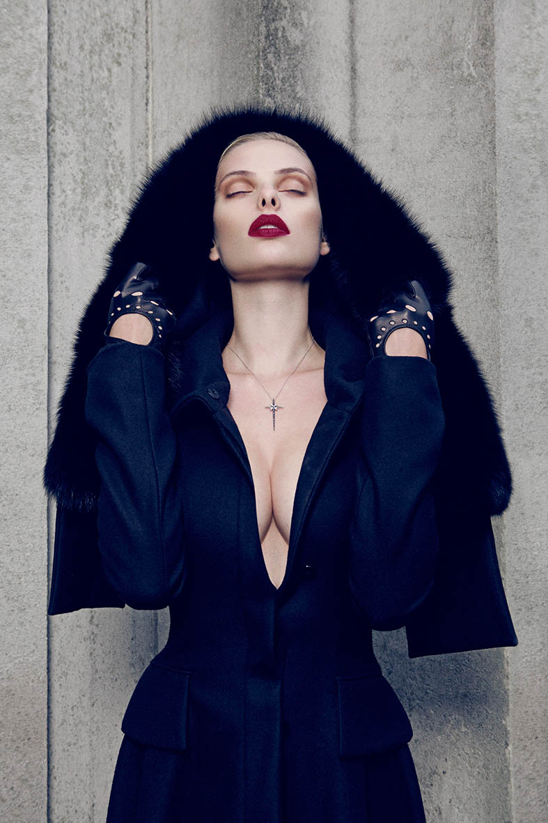 dioni tabbers model10 Dioni Tabbers Gets Sultry for LOfficiel Ukraine Shoot by Jenny Brough