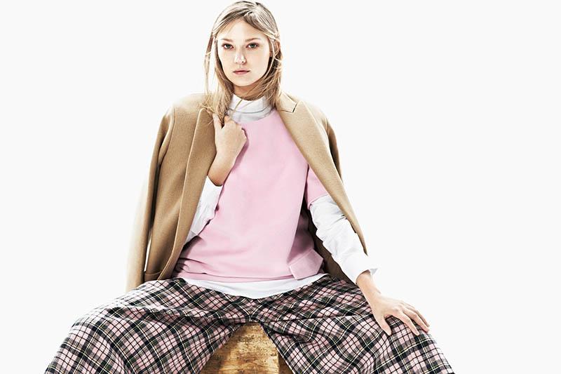 emeza campaign3 Johanna Jonsson Wears Designer Fashions in EMEZA Campaign