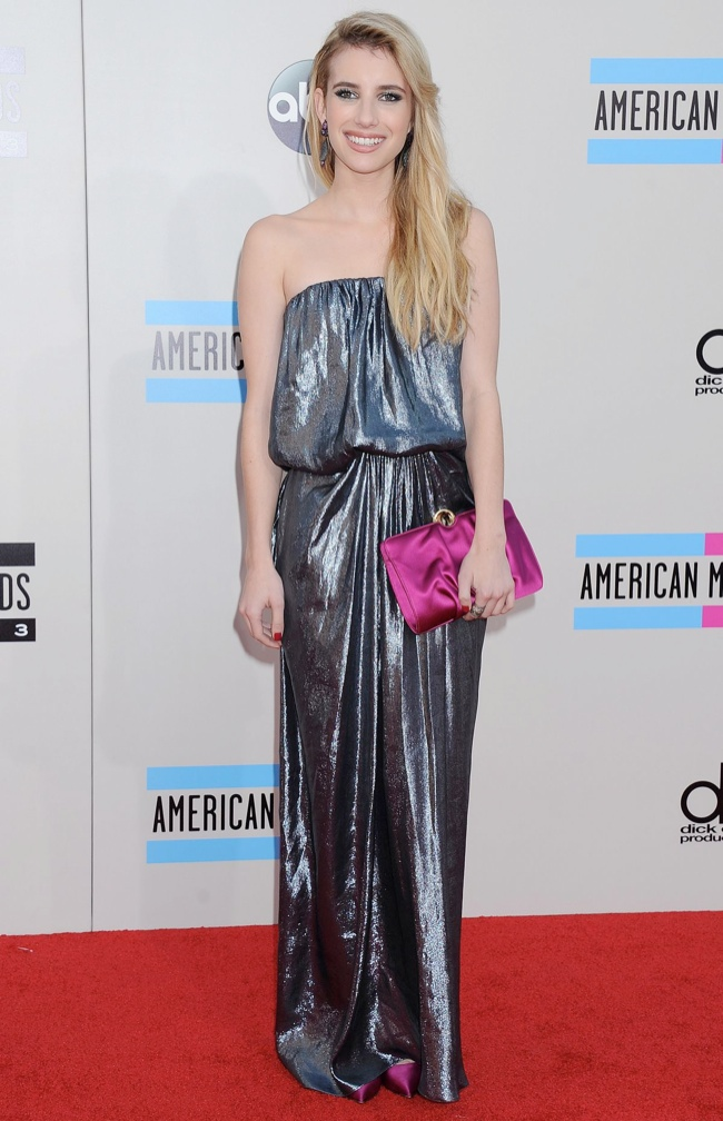 emma roberts lanvin Taylor Swift, Katy Perry, Miley Cyrus + More Star Style at the 2013 AMAs