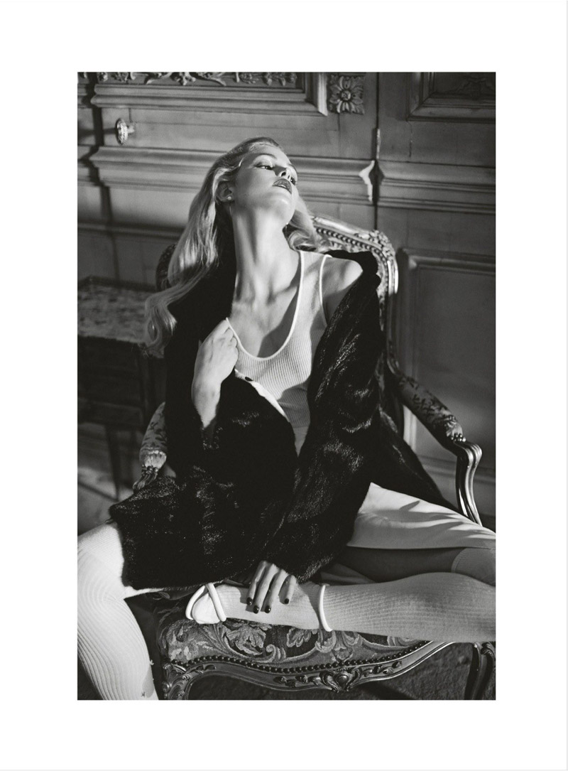 erin heatherton koray birand11 Erin Heatherton Plays Seductress for Koray Birand in Elle Russia Shoot