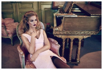 Erin Heatherton Plays Seductress for Koray Birand in Elle Russia Shoot