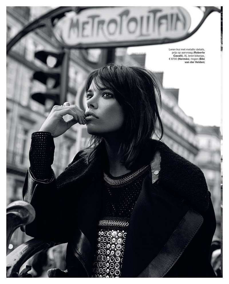 eva doll model3 Eva Doll Poses in Paris for Marie Claire Netherlands by Dennison Bertram