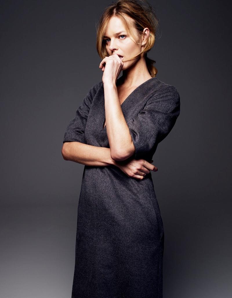 Eva Herzigova Poses for Gianluca Fontana in Fashion Issue #1