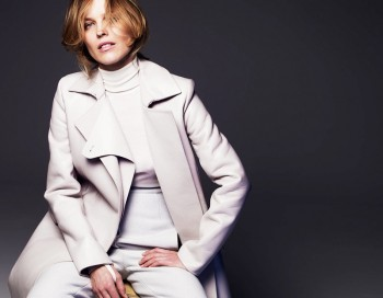 Eva Herzigova Poses for Gianluca Fontana in Fashion Issue #1