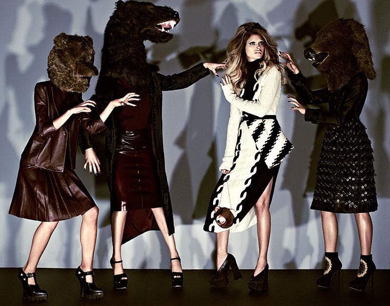 Pamela Bernier is Fairy Tale Chic for Fashion Spread by Chris Nicholls