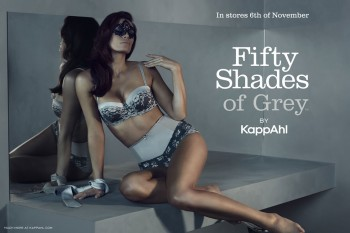 "KappAhl Launches ""Fifty Shades of Grey"" Inspired Lingerie Line"
